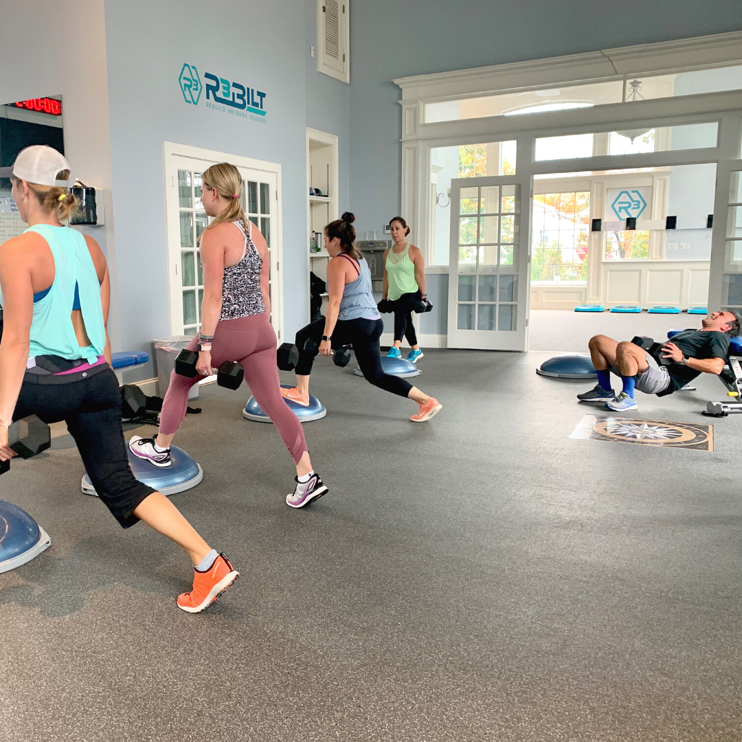 small group exercise class in milton ma