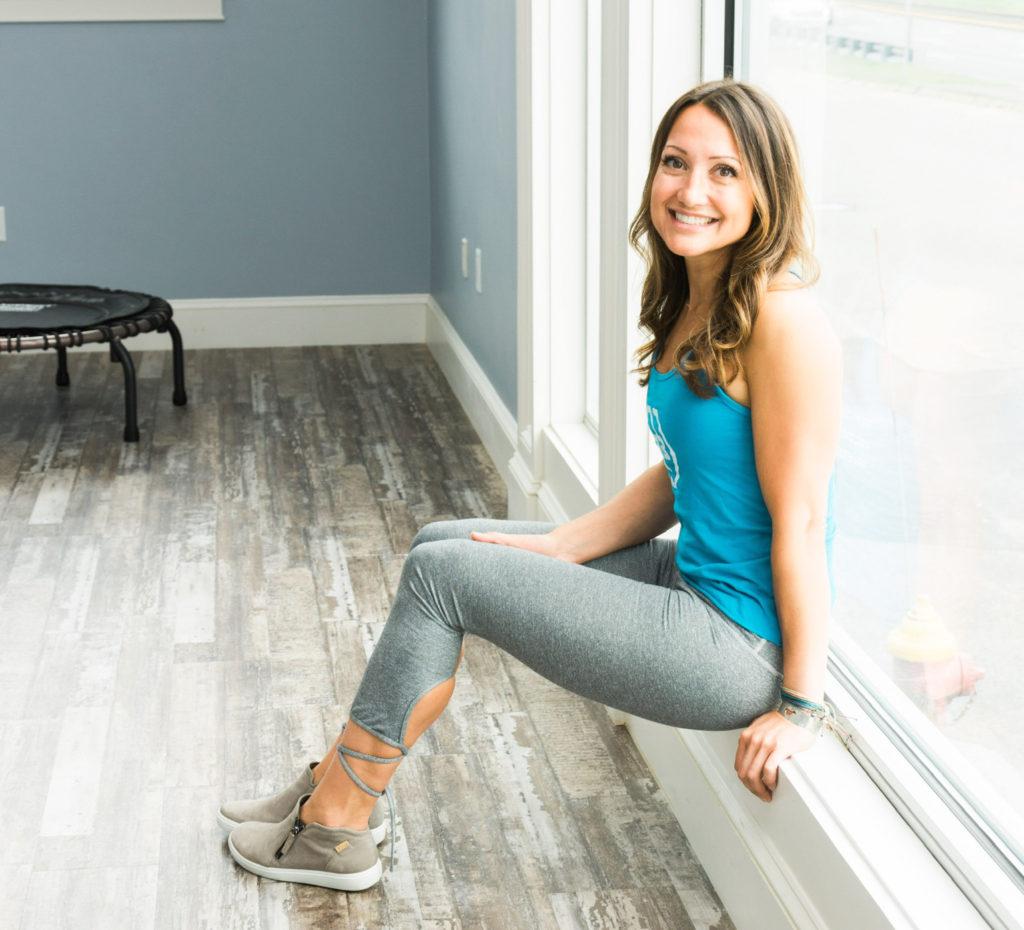 founder of R3Bilt Fitness Allison Barnes